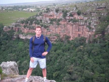 Träningläger i Sydafrika