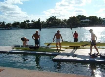 Träningsläger i Miami, 2004